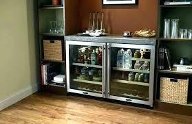 plain beverage undercounter beverage cooler under counter refrigerator glass door fridge to b
