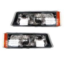 2006 Silverado Parking Light Bulb Details About Oem New Day Time Parking Light Lamp Right Left Set 2 03 07 Gm Truck Suv