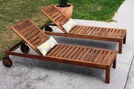 diy outdoor lounge chair plans. teak wood double chaise lounge chair diy outdoor plans