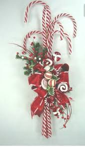 2960 Best Mesh Wreaths Images On Pinterest  Deco Mesh Wreaths Candy Cane Wreath Christmas Craft