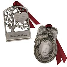 gloria duchin angel frame and tree memorial ornament set