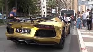 lamborghini gallardo 2015 gold. top marques monaco 2015 lamborghini aventador lp 7004 gold youtube gallardo gold o