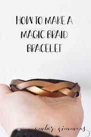 magic braid bracelet