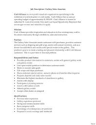 Retail Sales Assistant Job Description Resume