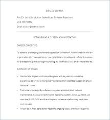 Systems Admin Resumes Systems Administrator Resume Pdf It Letsdeliver Co
