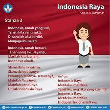 Lagu indonesia raya merupakan lagu wajib nasional kebangsaaan republik indonesia. Lirik Lagu Indonesia Raya Tiga Stanza Beserta Maknanya Infoguruku