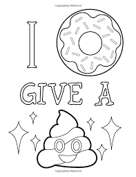 Emoji smiley with fear colorear coloring pages printable and coloring book to print for free. Amazon Com Emoji Coloring Book Of Funny Stuff Cute Faces And Inspirational Quotes 30 Awesome Designs For Emoji Coloring Pages Coloring Pages Coloring Books