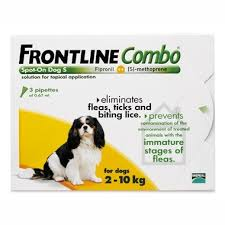 frontline for puppies. Frontline Spot On Combo Small Dog (2-10kg) For Puppies P