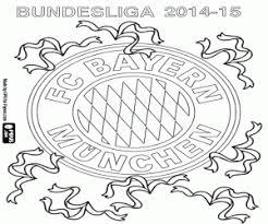Kleurplaat Bayern München Kampioen 2014 2015 Kleurplaten