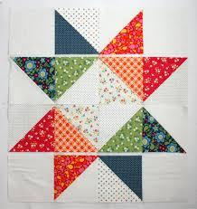 Easy DIY modern Star Baby quilt tutorial & Star Baby Quilt Tutorial layout Adamdwight.com