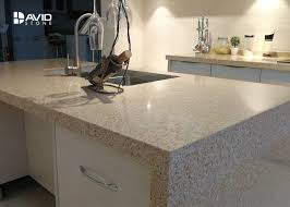 beige glossy polished quartz stone countertops solid surface quartz kitchen top