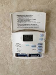 hunter thermostat install forest river forums i choose this one also because since it has to run on batteries i wanted to be able to access them out having to remove it from the wall plate ease of