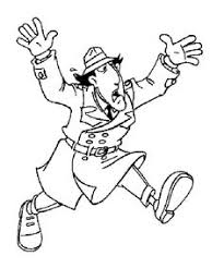 11 Best Inspector Gadget Coloring Pages Images In 2015 Coloring