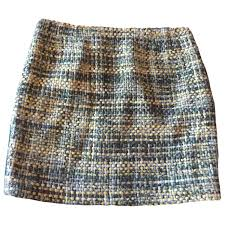 Tommy Hilfiger Skirt Size Chart Wool Skirt Tommy Hilfiger Multicolour Size 6 Us In Wool