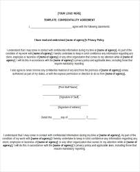 Non Disclosure Agreement Form 9 Free Word Pdf Documents Download