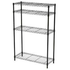 metal storage shelves. 4 shelf steel metal storage shelves g