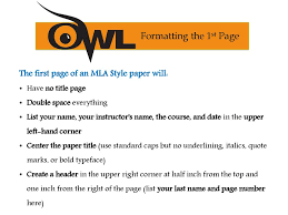 Mla 8th Edition Formatting And Style Guide Ppt Download