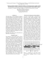 Microsystem Design Senturia Pdf Pdf Thick Buried Oxide In Silicon Tbos An Integrated