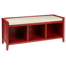 red entry table. Bench Tif Wid Cvt Storage Cubby Red Christmas Tree Shops Andthat Do Small Entryway Shoe Entry Table