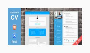 Resume Html Template Unique Top 48 Premium Quality Resume CV HTML Templates 4816 Designstub