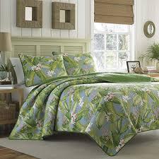 Tropical Bedding: Amazon.com & Tommy Bahama Aregada Dock Sky Quilt Set, King, Sky Adamdwight.com