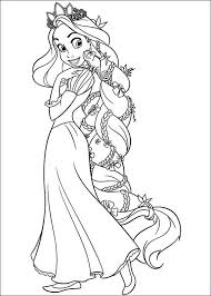 Small Picture The Best Disney Tangled Rapunzel Coloring Pages Disney tangled