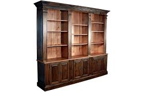 french provincial bookcase wall unit kate madison furniture inside remodel 8