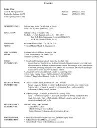 Educational Resume Template Amazing Extra Curricular In Resume Extracurricular Resume Template
