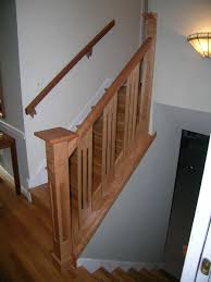 Captivating Home Interior With Indoor Stair Railing Kits Lowes :  Fascinating Decorating Ideas Using Rectangular Brown