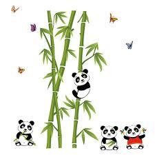 Gambar Panda Makan Bambu