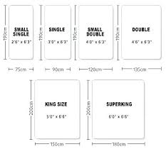 Hong Kong Bed Size Chart Full Size Bed Dimensions In Feet