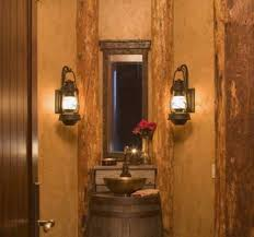 rustic bathroom vanity lights. Decorate Your Bathroom With Rustic Vanity Lights: Double Wall Lighting Lights L
