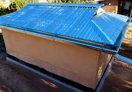 building a well house 5 corrugated metal roof