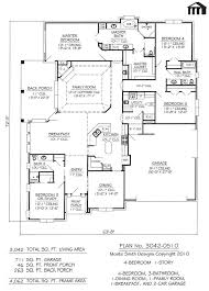 amazing one story house plans without garage unusual ideas design 6 single