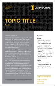 Poster Templates U Of I Brand Resource Center
