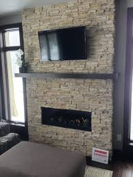 dry stack stone fireplace ideas cost designs stacked design m l f