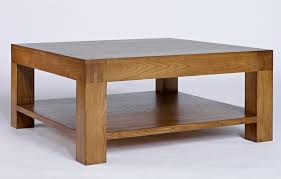 glamorous large square oak coffee table 13 with shelf santana tables 1 home design