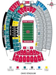 Horseshoe Seating Chart Studious Ohio State Football Horseshoe Seating Chart Ohio