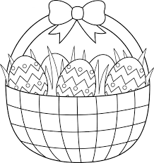 Printable Easter Coloring Pages Mandala Bunny Basket Rabbit Free Egg