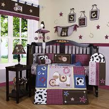 western baby boy crib bedding set