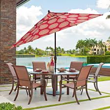 Telescope Casual Ocala 6 person Sling Patio Dining Set With