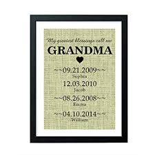 boston creative pany personalized gifts grandma gifts burlap sign gifts for s funny