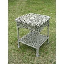 resin outdoor side table international caravan resin and steel outdoor side table antique moss suncast elements