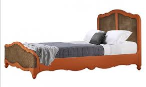 rattan twin bed. Unique Twin Bramble 26993 Vintage Orange Covington Rattan Twin Bed Solid Wood Special  Order SPECIAL ORDER PRODUCT With