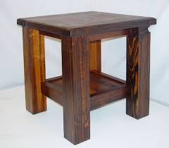 rustic end tables. Southwest End Table Rustic Tables L
