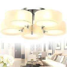 drum glass semi flush mount ceiling lights light fixture