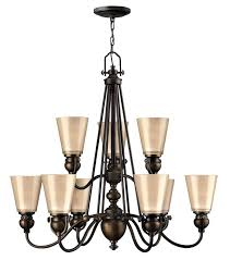 remarkable lighting mayflower 9 light 2 tier chandelier hinkley