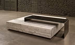 Coffee Table Rosegold Marble Coffee Table V Kingsley Tables Modern ...