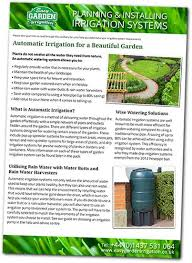Small Picture Garden Irrigation Planning Guide Starter Pack Easy Garden