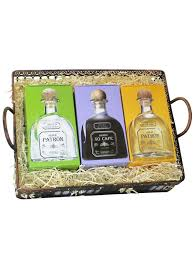 ultimate patron tequila tray gift set